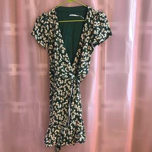 UO Wrap Mini Dress